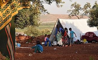 Esed rejimi 550 binden fazla sivili yerinden etti