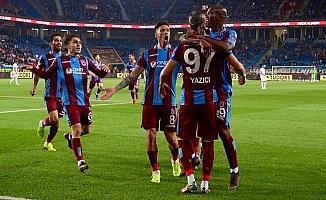 Gollü karşılaşmada kazanan Trabzonspor oldu