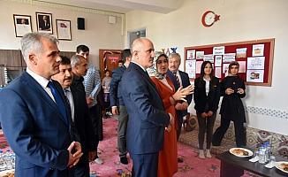 Karaman'da kütüphane açılışı