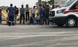 Konya'da kamyonet elektrik direğine çarptı: 1 ölü, 1 yaralı