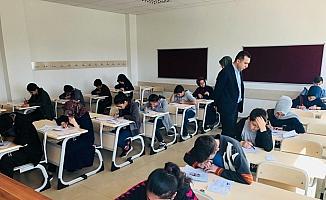 Ulaş'ta LGS provası yapıldı