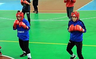 Yıldız Kız Boks Milli Takımı, Çankırı'da kampa girdi