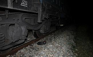 Çankırı'da trenin çarptığı kişi öldü