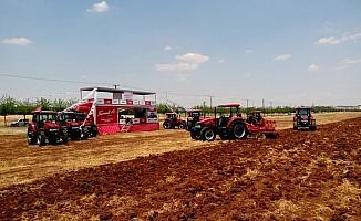 Case IH traktör tanıtım günleri Güneydoğu Anadolu'da başladı