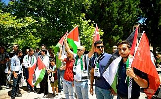 Eskişehir'de Bahreyn Çalıştayı protesto edildi