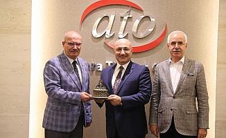 Halkbank Genel Müdürü Osman Arslan'dan ATO'ya ziyaret