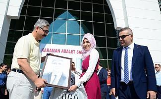 Karaman Cumhuriyet Başsavcıcı Yılmaz'a uğurlama töreni