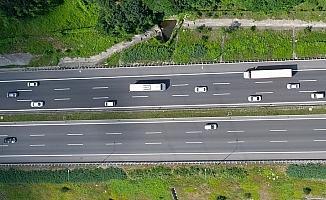 Kaynaşlı-Bolu Tüneli arası 20 gün süreyle ulaşıma kapatıldı