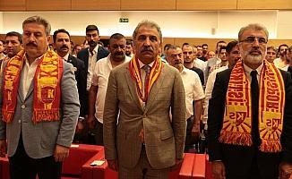 Kayserispor'da Erol Bedir yeniden başkanlığa seçildi