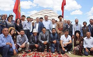 Kırgızistan'ın Ankara Büyükelçisi Omuraliev, Çubuk'u ziyaret etti