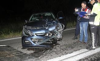 Konya'da zincirleme trafik kazası: 1 ölü, 1 yaralı