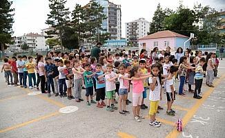"""Pursaklar'da """"Okullar Hayat Olsun Projesi"""""""