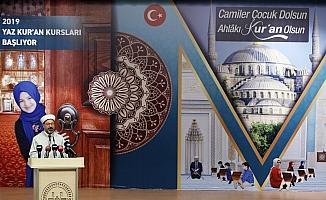 Yaz Kur'an kursları açılış programı