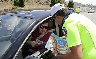 Yozgat'ta drone destekli trafik kontrolü