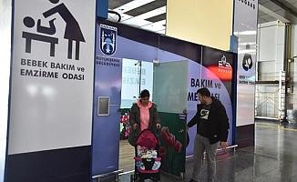 Ankara'da 5 istasyon ve 5 parka bebek bakım odası