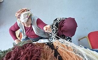 Bünyan'da halı dokuma kursu açıldı
