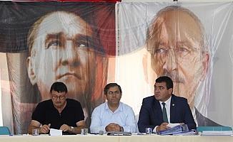 CHP Zara İlçe Başkanlığı'nda seçim değerlendirme toplantısı