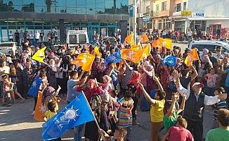 Demirci beldesinde yenilenen seçimi AK Parti adayı kazandı