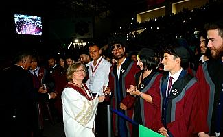 Eskişehir Teknik Üniversitesinde mezuniyet sevinci