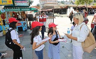 Eyüpsultan Meydanı'nda 150 ünite kan toplandı