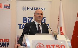 Halkbank, Bursa'da ticari kredilerini 14,6 milyar liraya taşıdı