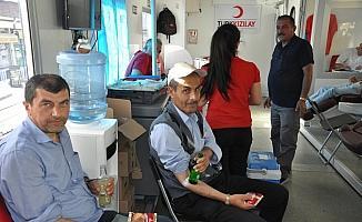 Keskin'de kan bağışı kampanyası