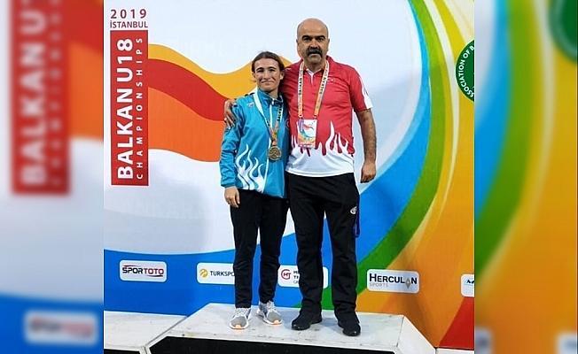 Kırşehirli sporcu Balkan ikincisi oldu