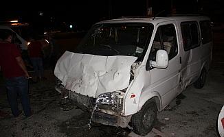 Konya'da trafik kazası: 8 yaralı