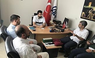 MEC Vakfı gönüllüleri AA'yı ziyaret etti