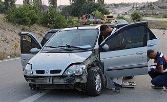 Otomobil şarampole devrildi: 1 ölü
