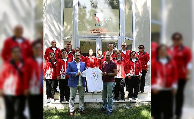 Özel sporculardan TSYD Ankara Şubesi'ne ziyaret