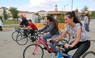 Sivas'ta geleneksel bisiklet turu