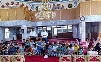 Ulaş'ta Kuran kursu öğrencilerine 15 Temmuz anlatıldı