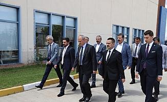 Ulaştırma ve Altyapı Bakanı Mehmet Cahit Turhan Nevşehir'de