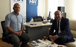 Yahşihan Belediye Başkanı Türkyılmaz'dan AA'ya ziyaret