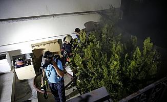 Başkentteki otelde yangın paniği