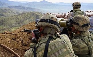 Hakkari'de 3 PKK'lı terörist etkisiz hale getirildi