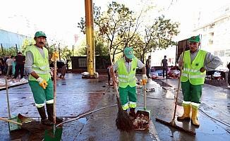 Yenimahalle Belediyesi'nin temizlik çalışmaları