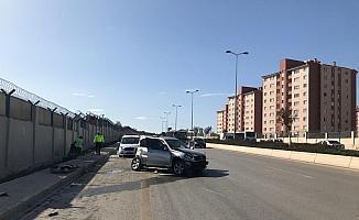 Başkentte kaza: 2 yaralı