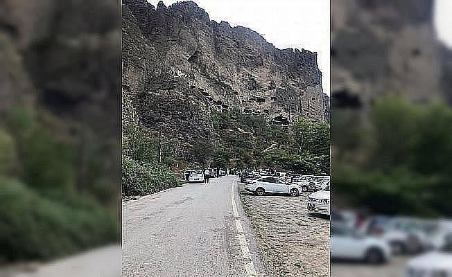 Güdül Belediyesinden İnönü Mağaraları bölgesinde düzenleme