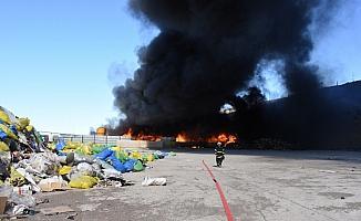 GÜNCELLEME - Kırıkkale'de fabrika yangını