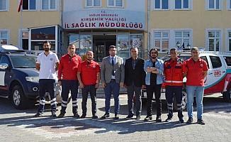 Kırşehir UMKE ekibi Şanlıurfa'ya gönderildi