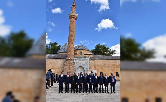 TBMM Başkanı Şentop, Kırşehir'de