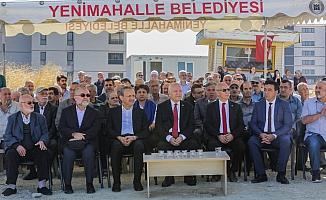 Yenimahalle'de bin 500 kişilik caminin temeli törenle atıldı