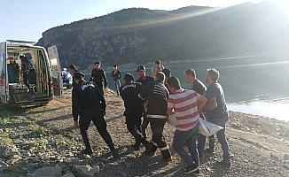 Karaman'da baraj gölüne giren kişi boğuldu