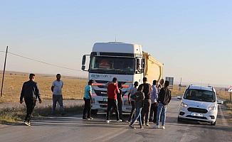 Kulu'da t yol kapatma eylemi yapıldı