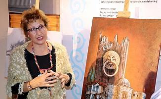 Ressamlar Çankırı'nın güzelliklerini tuvale yansıttı