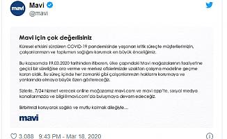 Türkiye'de Mağazalar da Kepenk Kapatacak.