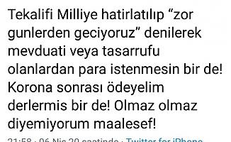 Erdoğan, Portakal hakkında neden suç duyurusunda bulundu?