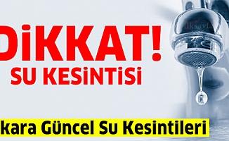 Ankara Su Kesintisi